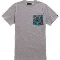The Hundreds Case Pocket T-Shirt - Mens Tee - Grey -