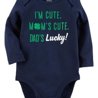 Long-Sleeve St. Patrick's Day Bodysuit