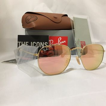 Cheap Ray-Ban Sunglasses RB3548N Hexagonal Flat Lenses 4 different colors outlet