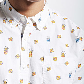 Alpha Beta Ramen Print Shirt