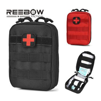 REEBOW TACTICAL First Aid Bag Only Molle Medical EMT Pouch Outdoor Emergency Military Utility IFAK Pack Outdoor Travel Hunting