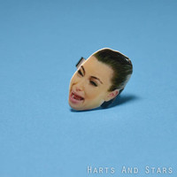 Crying Kim Kardashian Ring by HartsAndStars on Etsy