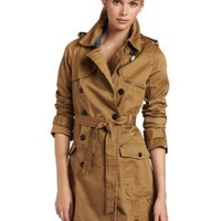 G-Star Womens Cl Bar Trench Coat