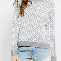 Urban Outfitters - Sparkle & Fade Yin-Yang Intarsia Sweater