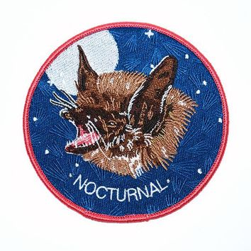 Nocturnal Bat Patch