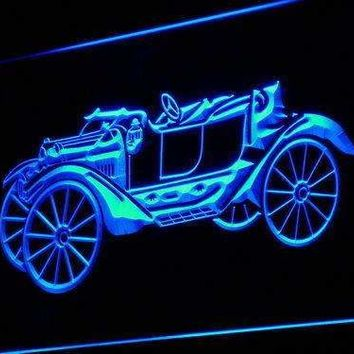 Vintage Car Collection Neon Sign (LED)