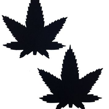 Weed Pasties in Black