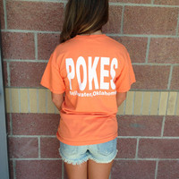 OSU pokes Stillwater comfort colors t-shirt-more colors