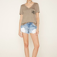 NYC Graphic Pocket Tee | Forever 21 - 2000177282