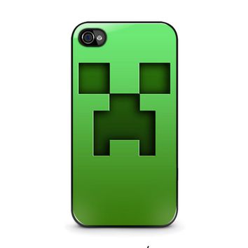 CREEPER MINECRAFT iPhone 4 / 4S Case Cover