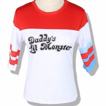 Harley Quinn Daddy's Lil Monster Costume T-Shirt
