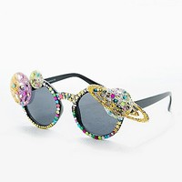Spangled Planet Glasses - Urban Outfitters
