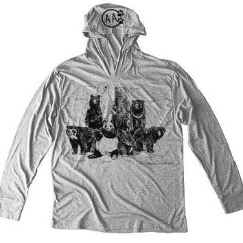 Jessie Jordan Collection - Bears of the World Unisex Hoodie