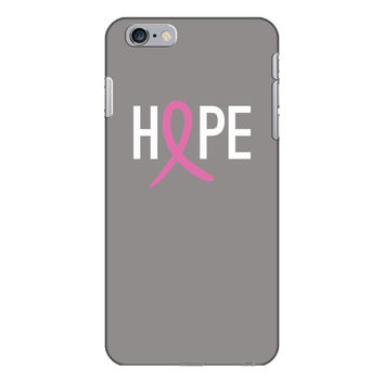Hope. Breast Cancer Awareness iPhone 6/6s Plus Case