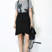 Studio Design Suspender Skirt