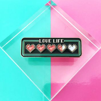 Love Life Enamel Pin