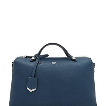 Fendi Women's Medium 'By The Way' Shoulder Bag Blue