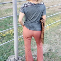Rusty bell bottoms
