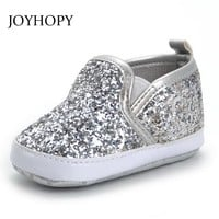Bling Bling Baby Shoes Toddler Newborn Baby Girls Boys Autumn Spring First Walkers Sneakers Shoes