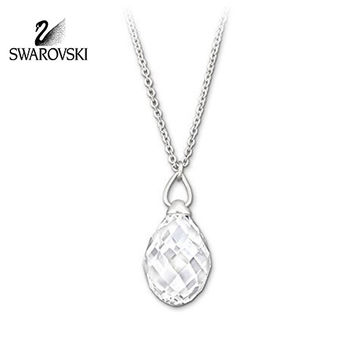 Swarovski Clear Crystal JEWELRY TWISTY PENDANT Necklace #1182706