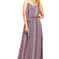 Grain Pixel Maxi Dress