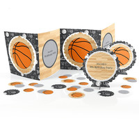 Nothin' But Net - Basketball - Birthday Party Table Decorating Kit