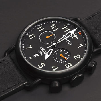 Ferro Airborne Pilot Watches are Inspired By Vintage Aviation
