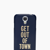 Kate Spade Get Out Of Town Resin Samsung S4 Case French Navy ONE