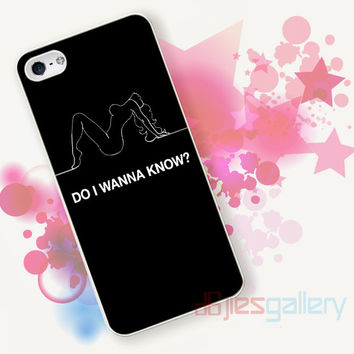 arctic monkeys do i wanna know quotes for iPhone 4/4S, iPhone 5/5S, iPhone 5C, iPhone 6 Case - Samsung S3, Samsung S4, Samsung S5 Case