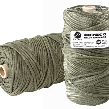 Nylon Paracord 550lb 300 Ft Tube