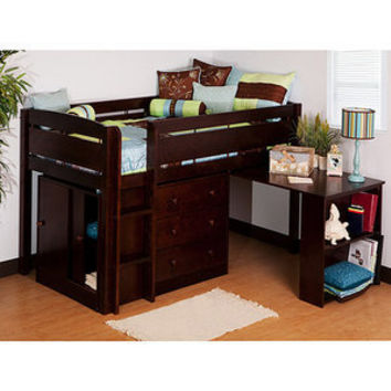 Walmart: Canwood Whistler Storage Loft Bed with Desk Bundle, Espresso