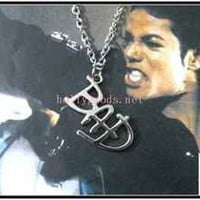 Michael Jackson BAD Style pendant Necklace