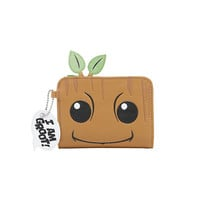 Marvel Guardians Of The Galaxy Vol. 2 Baby Groot Face Bifold Wallet