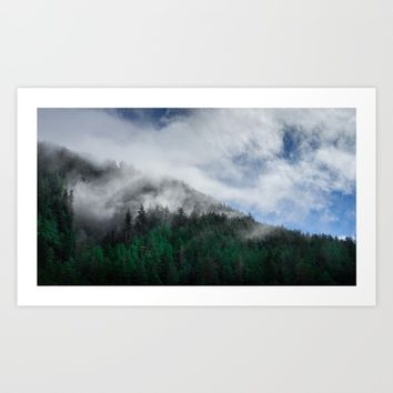 The Air I Breathe Art Print by Mixed Imagery