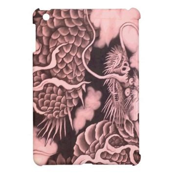 Cool traditional Japanese Dragon Texture Case For The iPad Mini