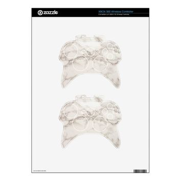 Marble Stone Xbox 360 Controller Decal