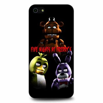 Five Nights At Freddy S 5 iPhone 5/5s/SE Case