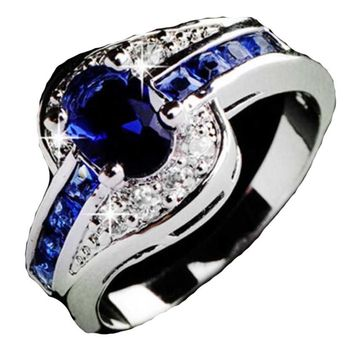 Silver Plated Wedding Ring