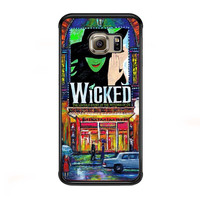 Wicked Broadway Musical watercolor for Samsung Galaxy S6 Edge Case *NP*