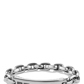 Men's David Yurman 'Streamline' ID Bracelet - Silver