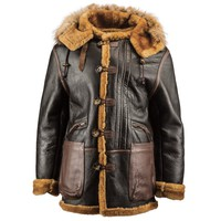 B-7 Vintage Sheepskin Parka | Alpha Industries