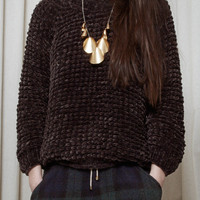 Nanushka - Aly - Hand knitted chenille sweater