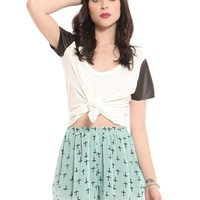 Crossed Out Shorts - Clothes | GYPSY WARRIOR