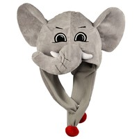 Forever Collectibles Alabama Crimson Tide Mascot Dangle Hat - Adult, Size: One Size (Ala Team)