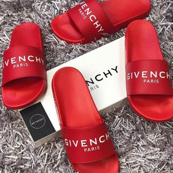 GIVENCHY Woman Men Fashion Slipper Flats Shoes
