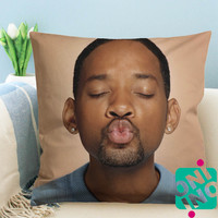 Will Smith Zippered Pillow Case, Cushion Case, Pillow case