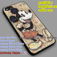 Mickey Mouse Vintage iPhone 6s 6 6s+ 6plus Cases Samsung Galaxy s5 s6 Edge+ NOTE 5 4 3 #cartoon #animated #disney #MickeyMouse dl5