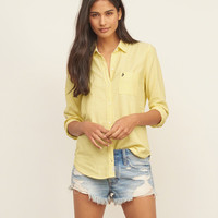 Drapey Oxford Shirt