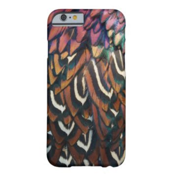 Pheasant feathers iPhone 6 case