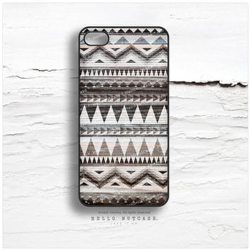 iPhone 5 Case Tribal, iPhone 5s Case Chevron, iPhone 4 Case, iPhone 4s Case, Geometric iPhone Case, Brown Aztec iPhone Cover I40